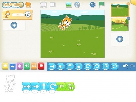 Free Technology for Teachers: Scratch Jr. Provides a Great Environment for Learning About Programming | App Articles | Scoop.it