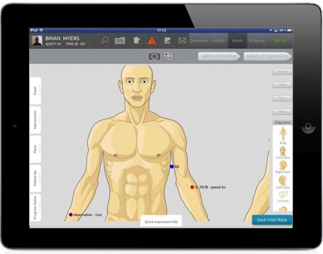 Touch-based, mobile EMR (and then some) for dermatologists coming to other docs this fall | MedCity News | e-Health, Health-IT, medical software | Scoop.it