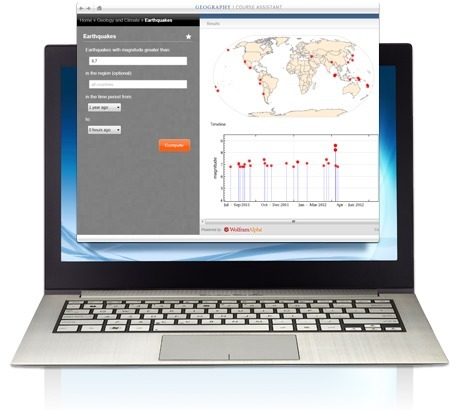 Wolfram Course Assistant Apps: World Geography Class Homework Help | Time to Learn | Scoop.it