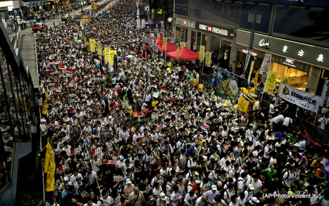 Video: Massive Pro-Democracy Protests Rage On In Hong Kong   Sustain Our Earth   Scoop.it