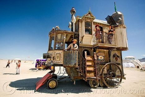 10 of the Most Fantastical Burning Man Creations | Outbreaks of Futurity | Scoop.it