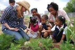 Profiles in Urban Farming: Sam Ullery, School Garden Specialist | Connected Teens | Scoop.it