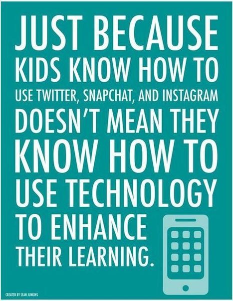 Do We Need to Teach Students to Use Technology? | Tech Learning | Ict4champions | Scoop.it