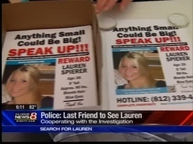 Six months missing | Lauren Spierer | Scoop.it