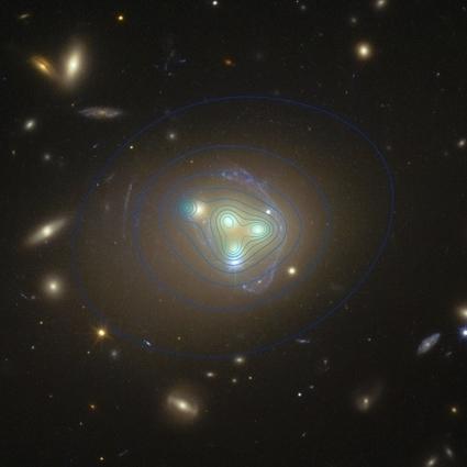 La matière noire se montre parce qu'elle est en retard | Beyond the cave wall | Scoop.it