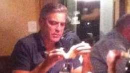 Erwischt! Clooney in Pizzeria in Montreux – People Schweiz – Blick