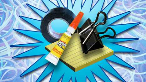 The Essential Life Hacking Supplies You Can Get for $1   Educational Technology - Yeshiva Edition   Scoop.it