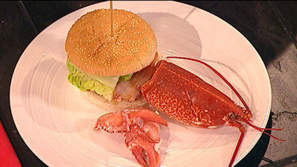 Lobster Burger | Its All About Seafood | Scoop.it