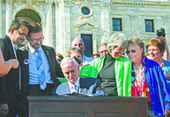 'Love is the law': Minnesota Gov. Mark Dayton signs same-sex marriage bill | Duluth News Tribune | Duluth, Minnesota | Government Law | Scoop.it