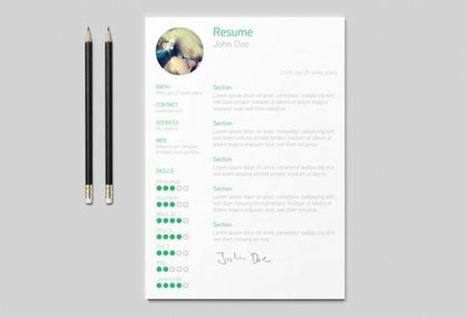 Free Resume Templates To Bet Better Job Opportunities | For Business, Economics and Entrepreneurship Students | Scoop.it