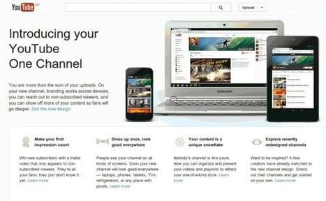 Youtube One Channel ya está disponible para todos | Big Media (Esp) | Scoop.it