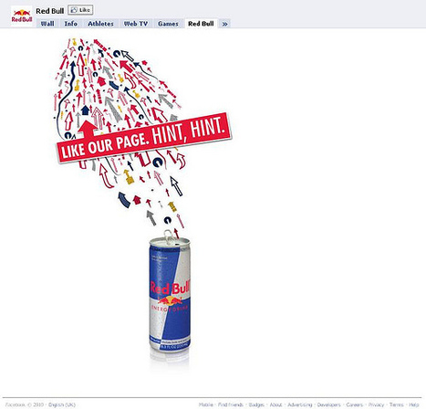 25 brilliant examples of Facebook brand pages | SM | Scoop.it