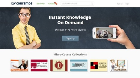 Coursmos - Online short courses for generation distracted | Massively MOOC | Scoop.it