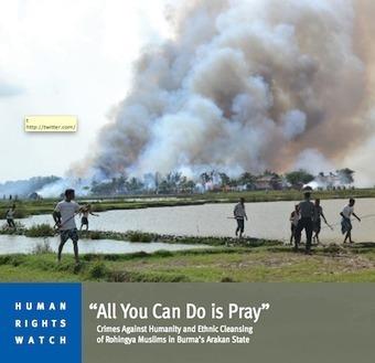 Birmanie : une vidéo publiée par la BBC prouve la complicité de la police | Action internationale | Scoop.it