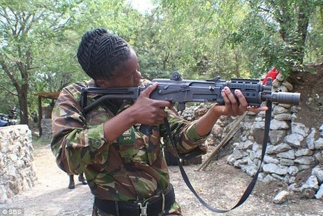 Black Mambas get weapons against poachers | Eco-feminism & the Ecology of Fear | Scoop.it