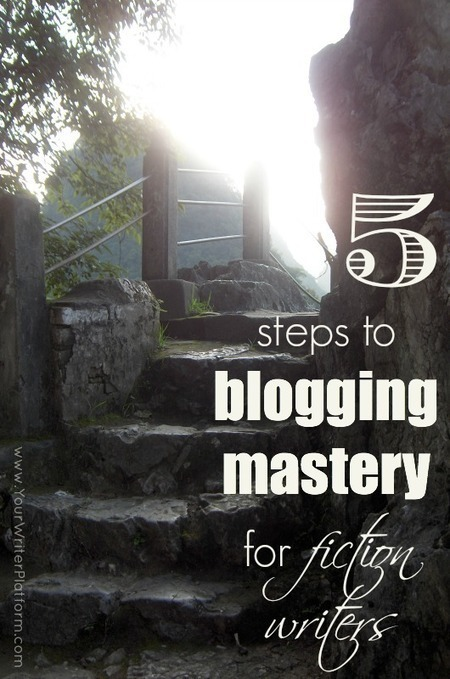 5 Steps to Blogging Mastery for Fiction Writers | Your Writer Platform | Litteris | Scoop.it