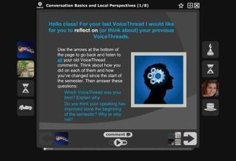 Final VoiceThread Reflection | TOOLKITS | Scoop.it