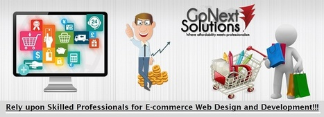 Rely Upon Skilled Professionals for Ecommerce Web Design and Development | Web Design, Website Development & Digital Marketing Company | Scoop.it