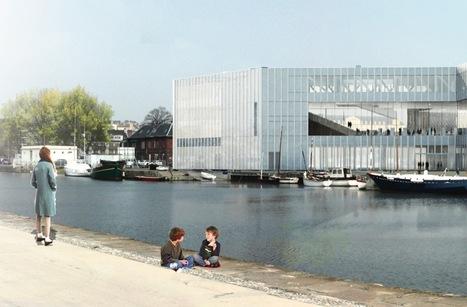 Caen : toute neuve, la bibliothèque Alexis de Tocqueville ouvrira fin octobre | Bibliothèque et Techno | Scoop.it