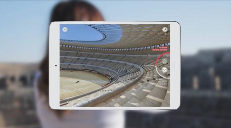Clic France / Tablette visioguide et table tactile ... Culturespaces offre un voyage numérique au cœur de la Nîmes romaine | L'actu culturelle | Scoop.it