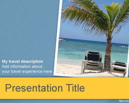 Tourism PowerPoint Template | Free Powerpoint Templates | storefashion | Scoop.it