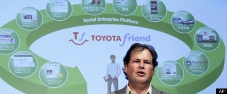 'Toyota Friend' Social Networking Service Is A Twitter For Car Owners (e)TOYOTA | Social Media C4 | Scoop.it