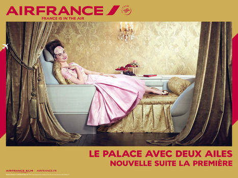 Air France : un changement d'image spectaculaire | Actu design - campagnes | Scoop.it