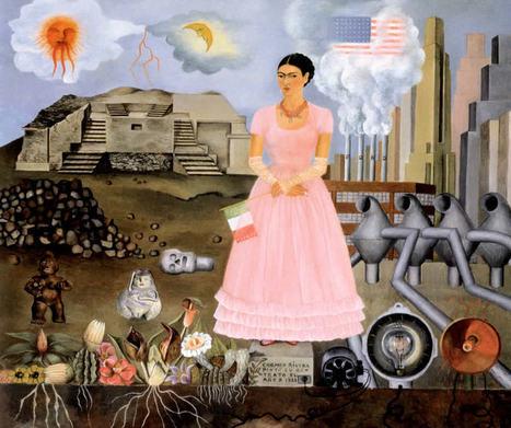 Frida Kahlo : Art et handicap, itinéraire d'une femme libre - | Apprendre a dessiner | Scoop.it