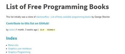 reSRC · List of Free Programming Books | HTML 5 | Scoop.it