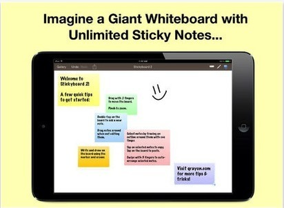 Stickyboard2- A Wonderful Sticky Note App (Free Today It was $9.99) Grab It -- EdTech & MLEarning | iPads in Education | Scoop.it