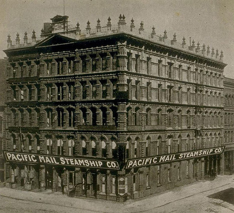 Pacific Mail Steamship Company & Chinese immigration - FoundSF   Chinese American history   Scoop.it