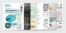 30 exemples de CV design et créatifs pour votre inspiration - La Ferme du web   CV   Scoop.it