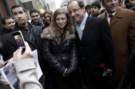 A Strasbourg, François Hollande se remet dans le bain (de foule) | Hollande 2012 | Scoop.it