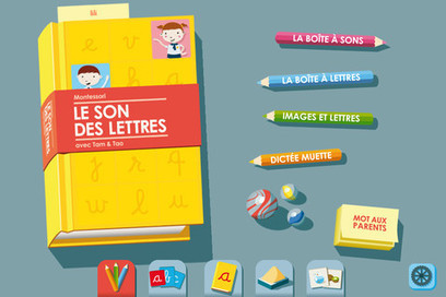 App Shopper: Montessori Letter Sounds - French phonics for iPhone (Education) | Primary French Immersion - Grade 1 | Scoop.it