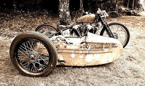 KNUCKLEHEAD SIDECAR | Vintage Motorbikes | Scoop.it
