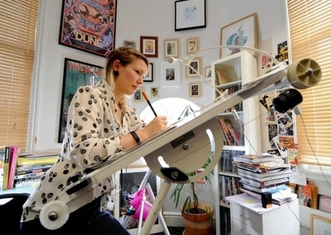 Leeds comic book queen is picture perfect | Ladies Making Comics | Scoop.it