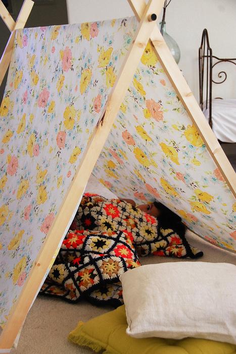cakies: DIY: A-frame tent | pour enfant | Scoop.it