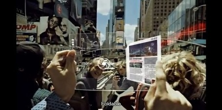 "Samsung Flexible, 3D, Transparent Tablet Display Concept is Breath Taking (Video) | Tablet News | ""Social Media"" 