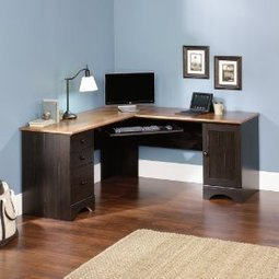 Sauder Harbor View Corner Computer Desk | Home Office Furniture | Scoop.it
