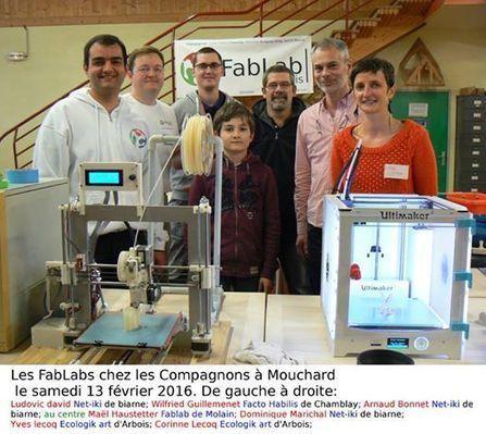 Mouchard, les compagnons et le FabLab étendu… – Fablab comtois | Fablabs, makerspaces, robots et DIY | Scoop.it