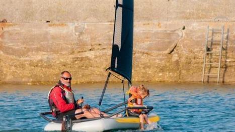 Dériveur innovant à Vannes. Le Tiwal primé par BFM business   Tiwal , the inflatable sailing dinghy made in France   Scoop.it