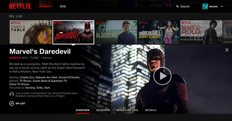 Netflix is Readying a New, immersive Web Interface | Big Media (En & Fr) | Scoop.it