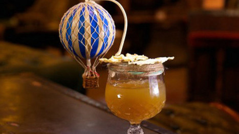 Inception Group to launch Mr Fogg's Hot Air Balloon Bar (April Fool) | Jules Verne News (english) | Scoop.it