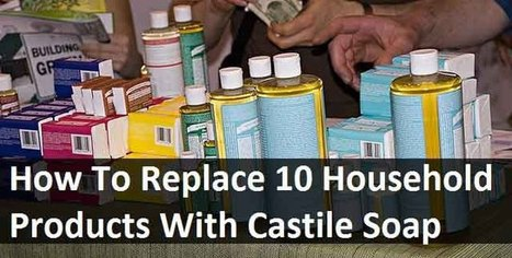 Replace 10 Household Chemical Products With Castile Soap - LivingGreenAndFrugally.com | DIY Homestead | Scoop.it