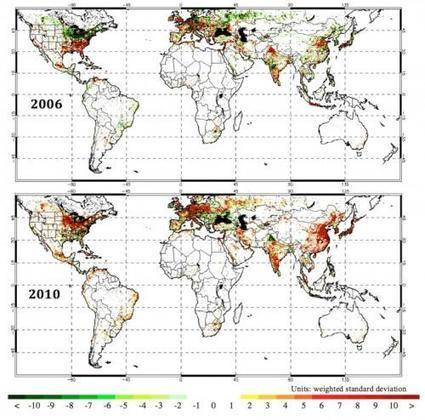 Study maps 15 years of carbon dioxide emissions on Earth | Sustain Our Earth | Scoop.it