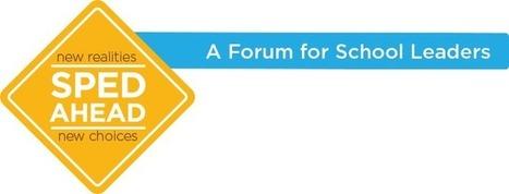 SPED Ahead Forum: Special Education Resources & Webinars | Cool School Ideas | Scoop.it