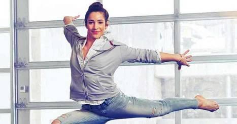 Watch Aly Raisman Flip in Her Skinny Jeans | Jeans Fashion | Scoop.it