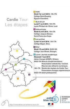 Le Cardie Tour fait étape à Blois le 14 avril au collège Bégon et à Bourges au collège Renoir le 15 avril. | education | Scoop.it