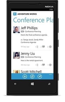 Yammer Opens Up to iOS + Windows Phone 8 Mobile App Developers | Social Business | Scoop.it