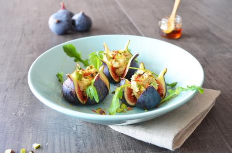 Salade de figues express ! | Maisons Créoles | Scoop.it